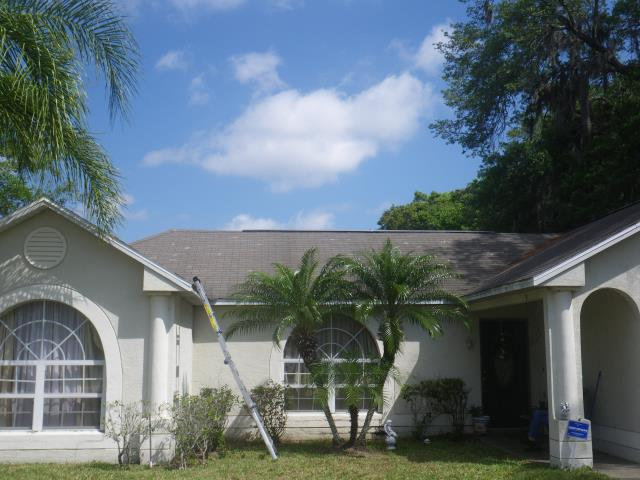 Orlando, FL - Another insurance claim settled . Let us check your roof to see if you have a claim . Speak with Jeff