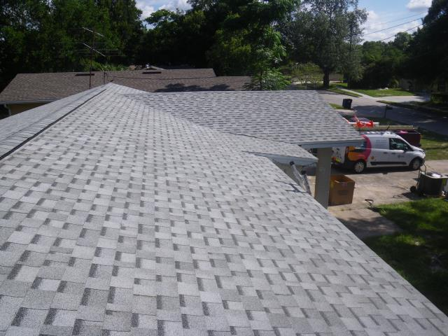 Orlando, FL - Looks great with a roof . Upgraded Cobra vents . Ask for Jeff to do a free roof quote