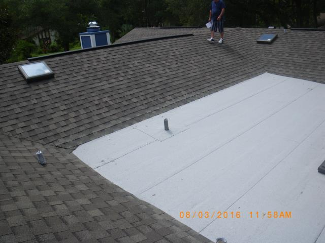 Winter Springs, FL - Another roof completed .