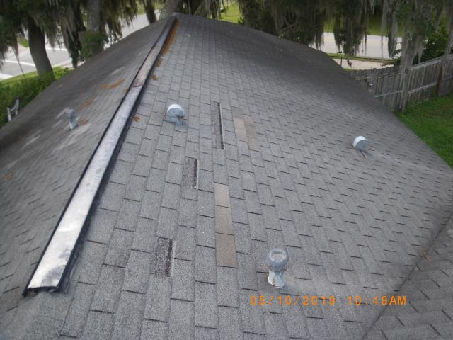 Deltona, FL - Helping homeowner with insurance claim . Ask for Jeff