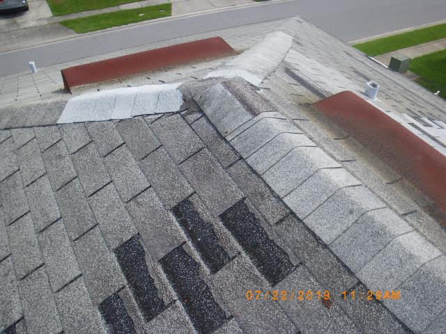 Orlando, FL - When we finish , this home will have great curb appeal . Call Jeff B for all your roofing needs