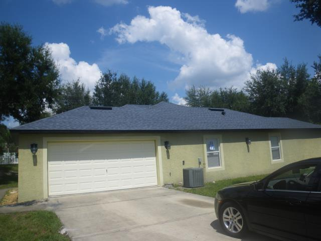 Deltona, FL - Stunning CertainTeed Atlantic Blue with a Black drip . Another insurance claim complete . Please call Jeff B with any roofing questions or for a free quote
