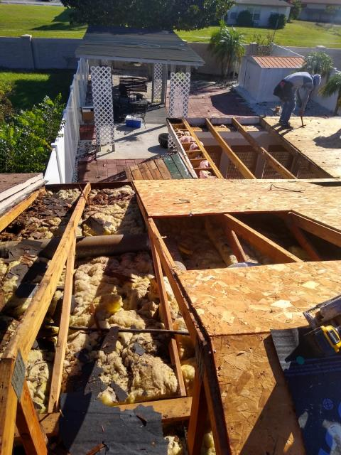 Apopka, FL - We are bringing the decking up to code. Count on JTI to do the job right . Need a quote , ask for Jeff B