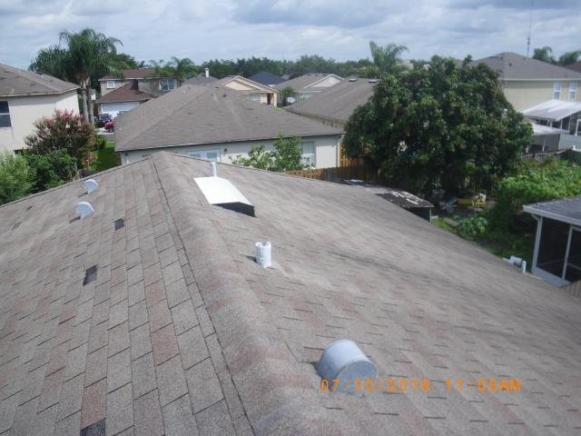 Orlando, FL - Storm damage