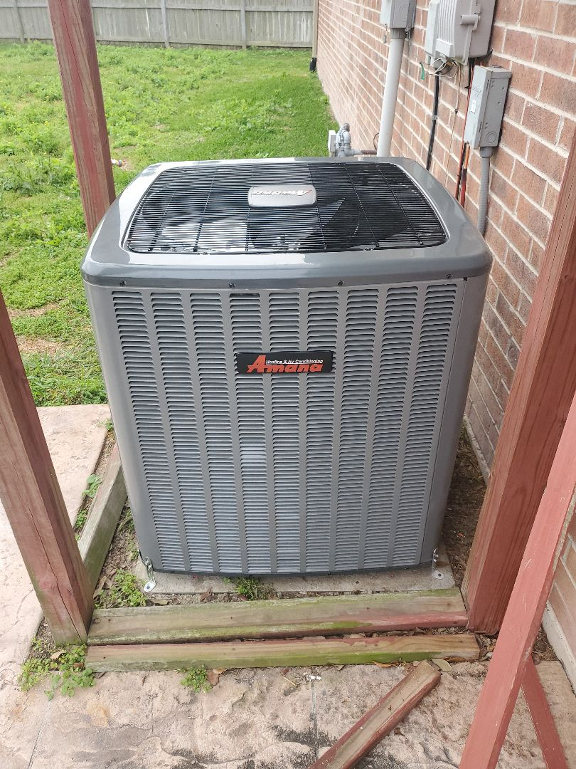 Corpus Christi, TX - Just finished installing a New ac unit in corpus christi Texas