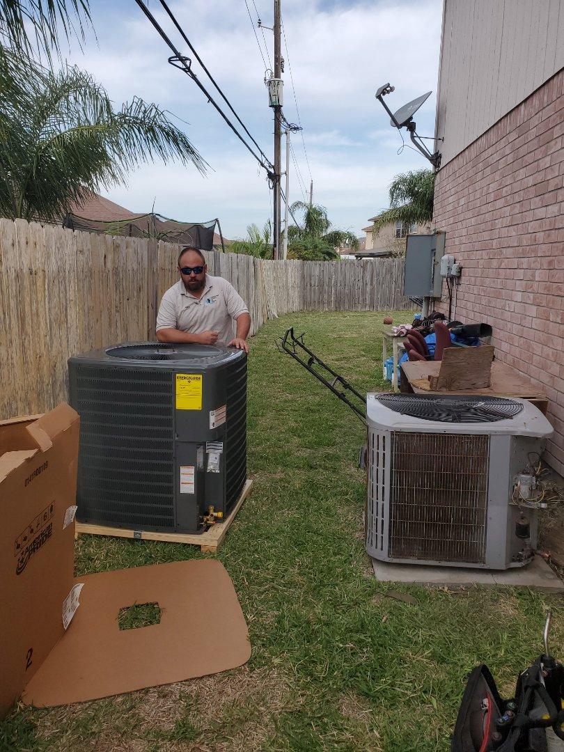 Corpus Christi, TX - Ac repair corpus christi texas. Install new ac unit.