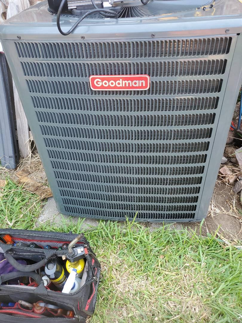 Portland, TX - Installing a new air conditioning system in Portland, TX.