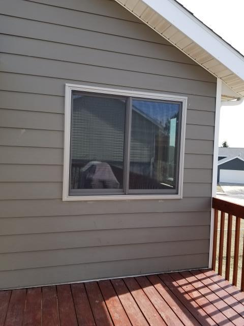 Rapid City, SD - Replaced two Windows with insulated Renewal by Andersen Windows in Rapid City