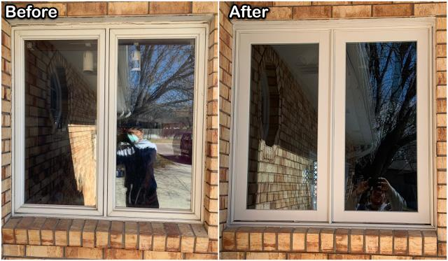 Scottsbluff, NE - Check out this job we did updating the look & efficiency of this home in Scottsbluff!
