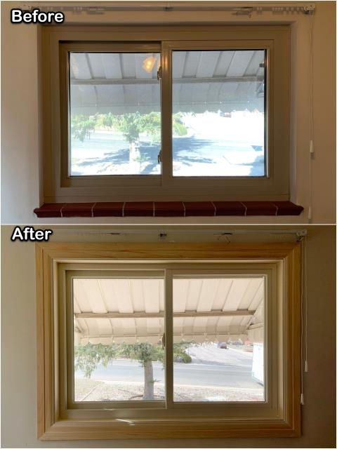 Cheyenne, WY - This Cheyenne homeowner upgraded their old windows to new RbA Fibrex® increasing their homes efficiency and look!