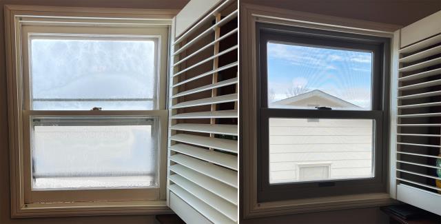Casper, WY - This Casper, WY home upgraded their windows to our Energy Efficient Fibrex Windows!