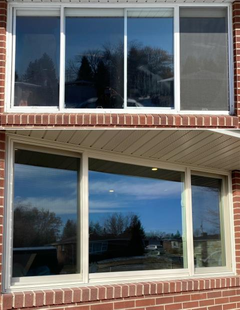Cheyenne, WY - This Cheyenne, WY home upgraded their windows to our Energy Efficient Fibrex Windows!