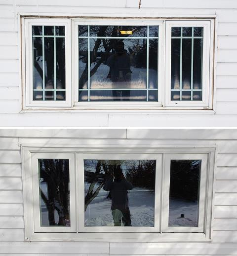 Rawlins, WY - This Powell, WY home upgraded their windows to our Energy Efficient Fibrex Windows!