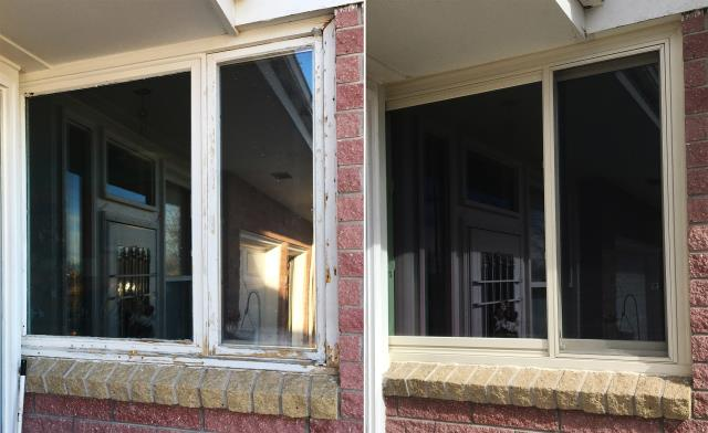 Riverton, WY - This Riverton, WY upgraded their windows to our Energy Efficient Fibrex Windows!
