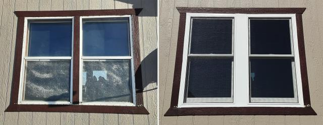Gillette, WY - This Gillette, WY home upgraded their windows to our 5 Star Energy Efficient Fibrex Windows!