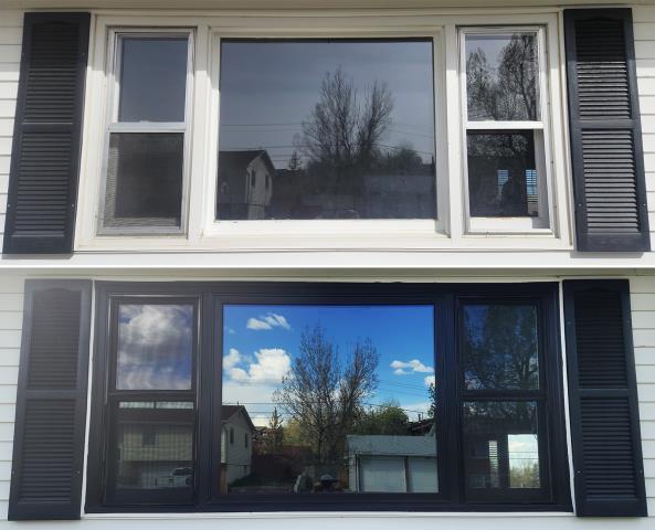 Casper, WY - This Casper, WY home upgraded their windows to our 5 Star Energy Efficient Fibrex Windows!
