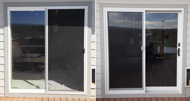 Buffalo, WY - This Buffalo, WY home upgraded their patio door to our Energy Efficient Sliding Glass Patio Door!