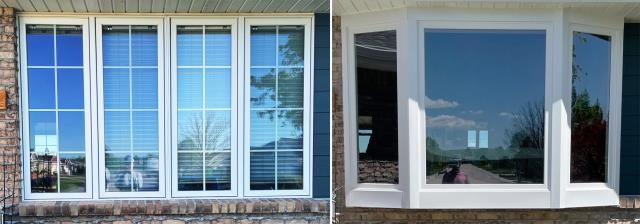 Gering, NE - This Gering, NE home upgraded their patio door to our Energy Efficient Sliding Glass Patio Door!