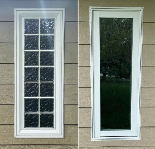 Gering, NE - This Gering, NE home upgraded their windows to our 5 Star Energy Efficient Fibrex Windows!