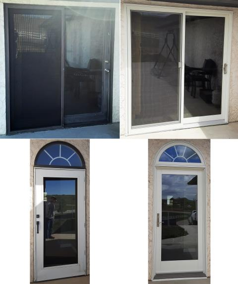 Gillette, WY - This Gillette, WY home upgraded their patio doors to our Energy Efficient Sliding and French Style Patio Doors!