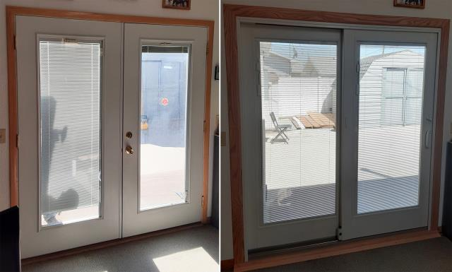 Rawlins, WY - This Rawlins, WY home upgraded their patio door to our Energy Efficient Sliding Patio Doors!