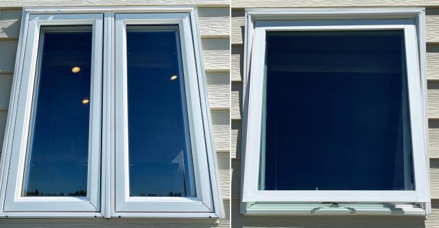 Cheyenne, WY - This Cheyenne, WY home upgraded their windows to our 5 Star Energy Efficient Fibrex Windows!