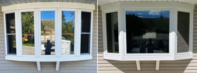 Rawlins, WY - This Rawlins, WY home upgraded their windows to our 5 Star Energy Efficient Fibrex Windows!