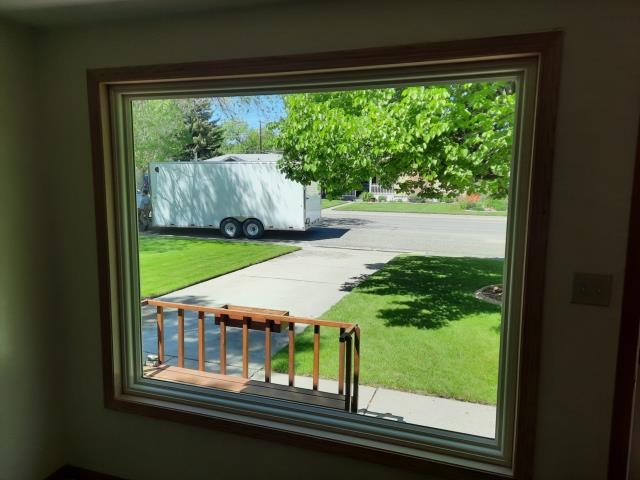 Cody, WY - Look at this amazing RbA Fibrex® picture window!!