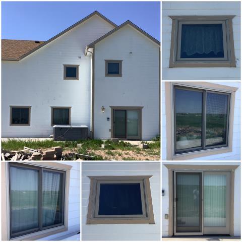Cheyenne, WY - Beautiful installation done in Cheyenne with our RbA Fibrex® windows!