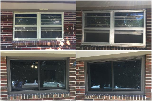 Newcastle, WY - Beautiful upgrade done in Newcastle! Day and night difference with these RbA Fibrex® windows!