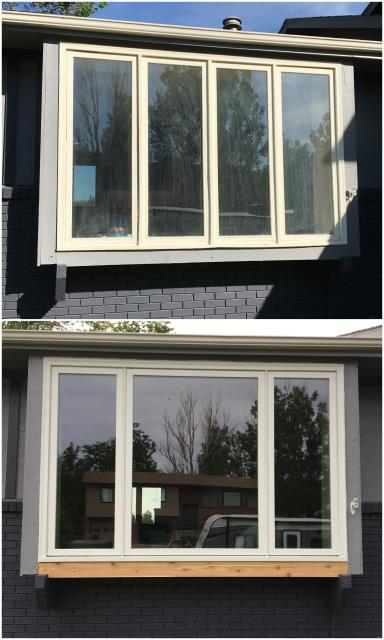 Casper, WY - Look at this amazing install done in Casper with our RbA Fibrex® windows!