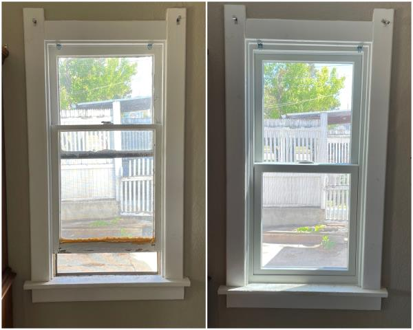 Casper, WY - Beautiful install done in Casper, look at this transformation done with our RbA Fibrex® window!
