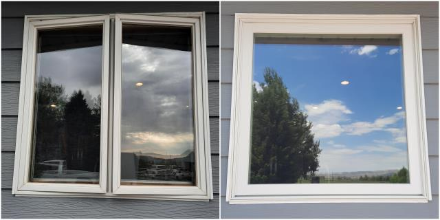 Cody, WY - Beautiful transformation done with our RbA Fibrex® window! Install done in Cody!