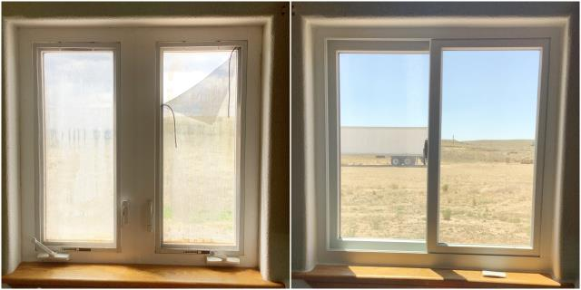 Gillette, WY - Amazing upgrade done with our RbA Fibrex® window in Gillette!