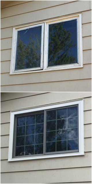 Laramie, WY - Great upgrade done with our RbA Fibrex® windows in Laramie!