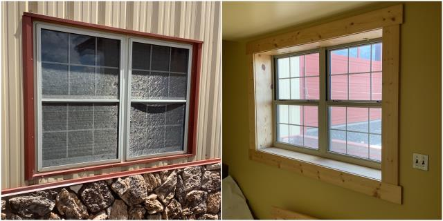 Laramie, WY - Beautiful inside & outside pictures of our RbA Fibrex® window! Install done in Laramie.