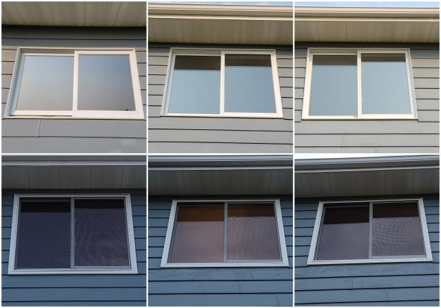 Sheridan, WY - Beautiful install done in Sheridan! We replaced these old windows with our RbA Fibrex® Gliding Window with a white exterior trim!