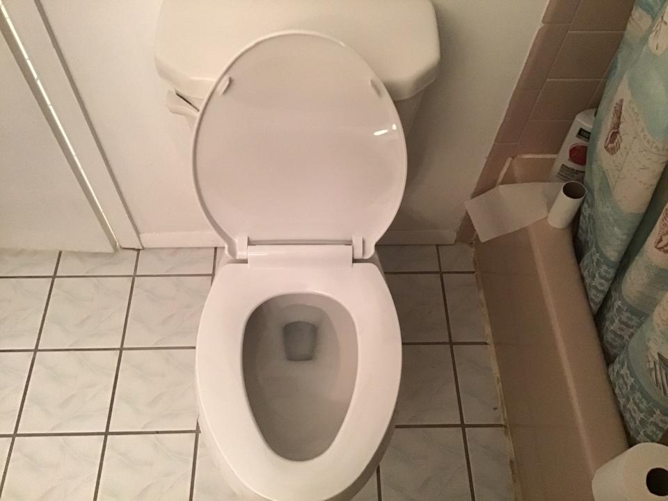 Toms River, NJ - New Gerber Viper toilet installed