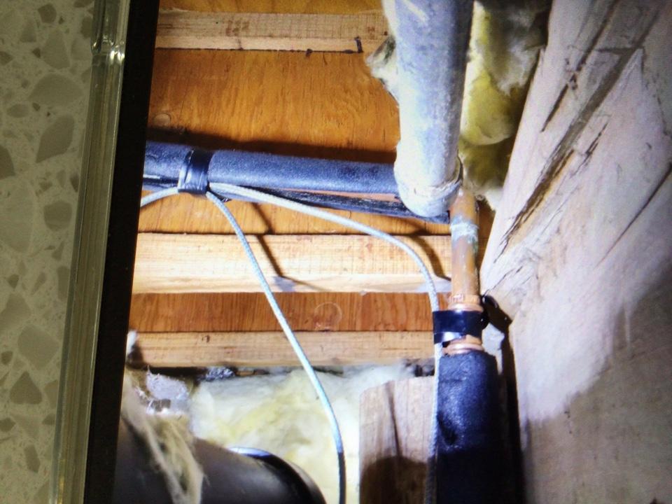 Replaced broken water pipe in Barnegat