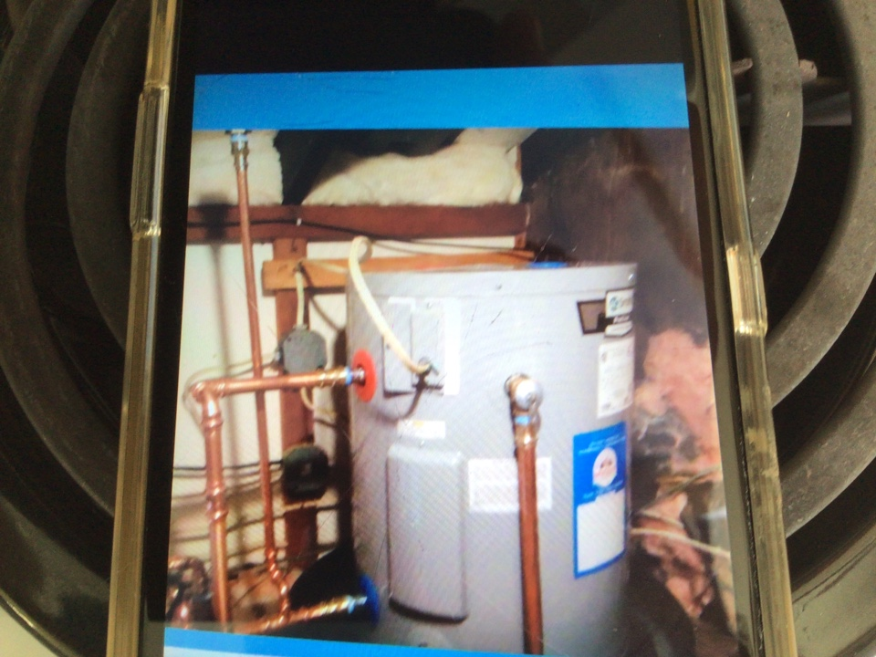 Replaced electric water heater in Lavalette