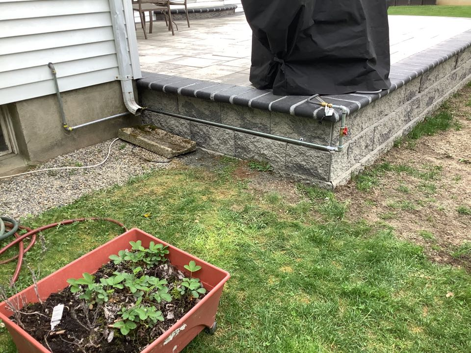 Freehold, NJ - Install new gas line for grill