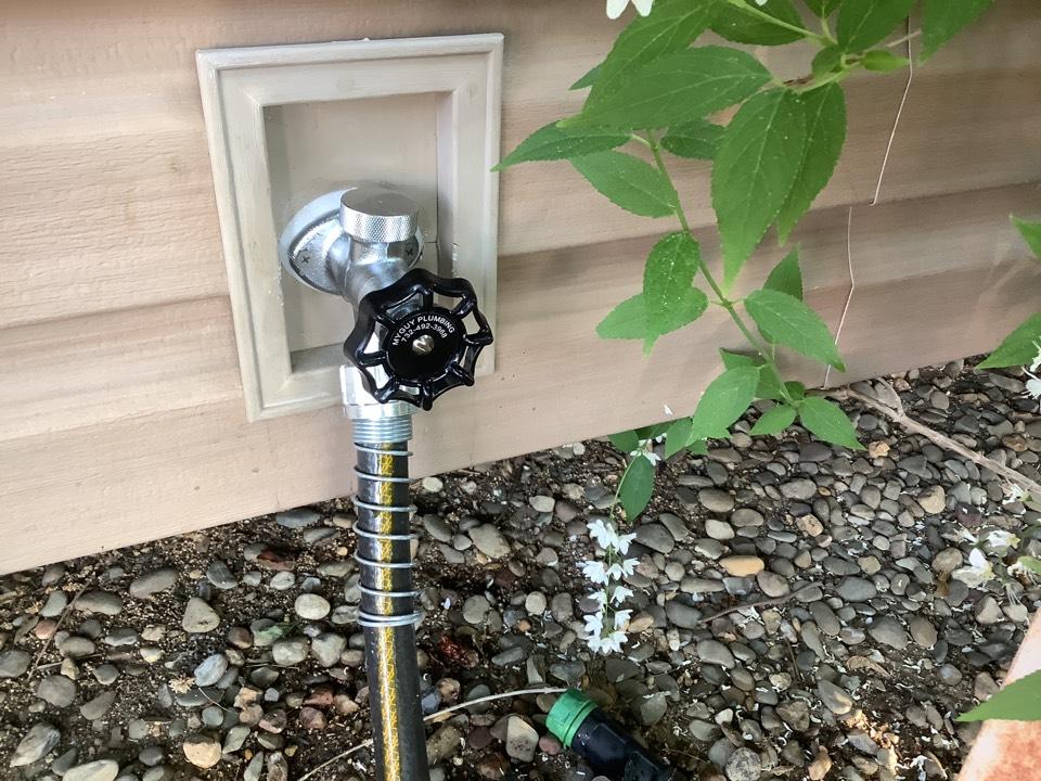 Install new frost free hose bibb in Beachwood, NJ