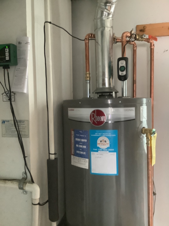 Toms River, NJ - New water heater