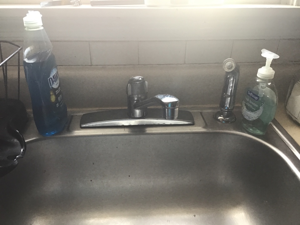 Cleaned screen on faucet aerator in Lanoka Harbor NJ