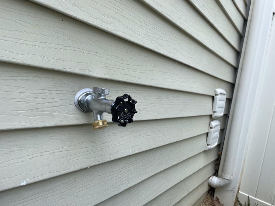 Replace of hose bib