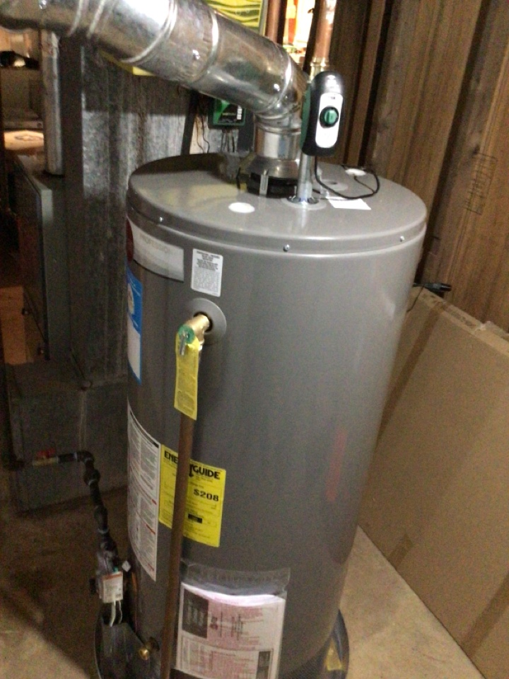 Installed a new water heater and replaced shut off valve for house main water in Toms River