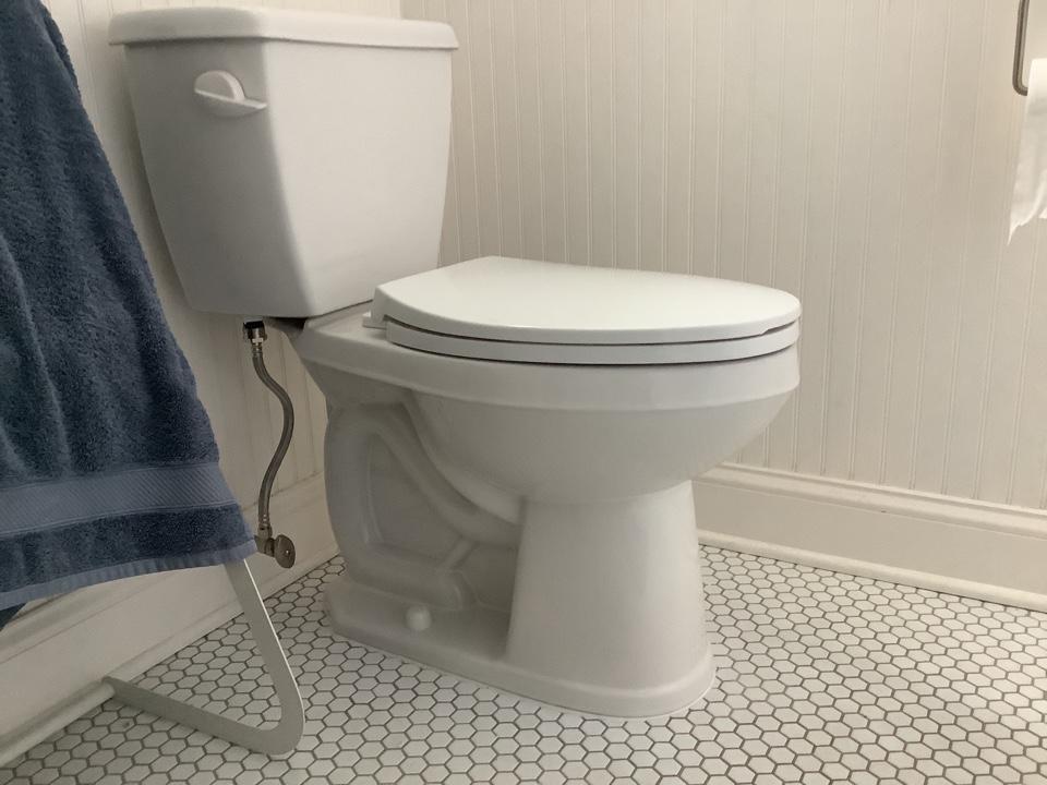 Ocean Gate, NJ - Toilet replacement
