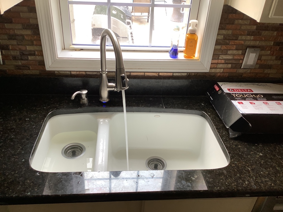 Installed new faucet, toilet, and tub spout in jackson nj