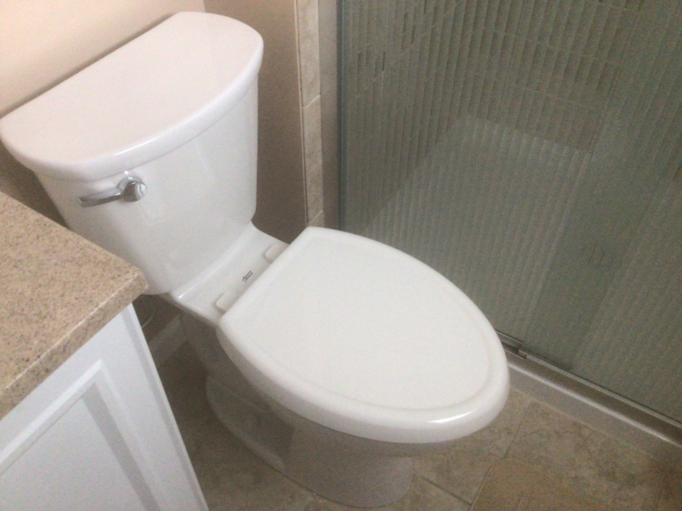 Supplied and installed one American Standard Cadedt pro comfort height toilet in white. Job was in holiday city