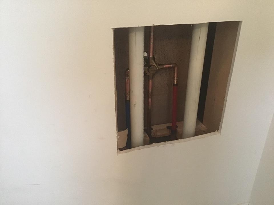Ocean Gate, NJ - New Moen PosiTemp shower valve installed in Ocean Gate NJ.